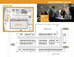 trade show floor plan canect 2017 exhibition u0026 tradeshow canadian environmental