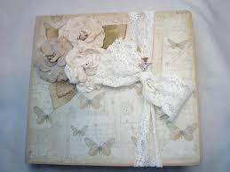 wedding registry books bridal scrapbook botanical album wedding registry handmade book