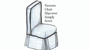 parsons chair slipcover parsons chair slipcover simply sewn