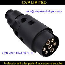 aliexpress com buy 7 pin male trailer connector plug boat