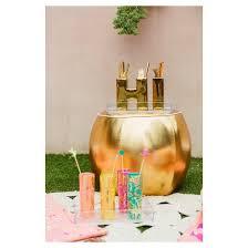 oh joy gold pouf ottoman target