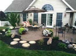 Backyard Concrete Patio Designs Backyard Concrete Patio Designs Brilliant Backyard Cement Patio