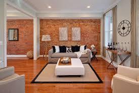 bedroom creative interior design with stunning exposed brick