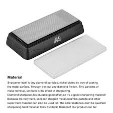 Sharpening Stone For Kitchen Knives by Double Sided Water Diamond Sharpener Sharpening Stone Kitchen