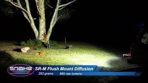 rigid industries backup light kit srm flush mount led light comparison rigid industries youtube