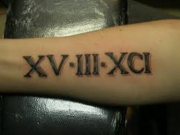 Numerals On Forearm 22 Forearm Numerals Tattoos