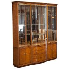 vintage drexel heritage breakfront display cabinet at 1stdibs
