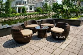 Dark Brown Wicker Patio Furniture by Furniture Astounding Furniture For Home Decoration With Colored