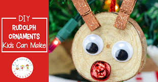 diy rudolph ornaments your will to make