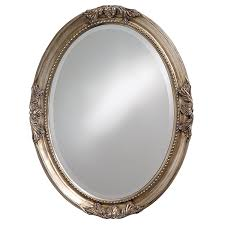 amazon com howard elliott 4081 queen ann mirror oval antique