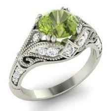 peridot engagement ring peridot engagement rings 2017 wedding ideas magazine weddings