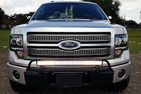 f150 bumper light bar n fab ford f 150 2009 2014 or series bumper light bar for up to