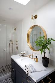 appealing round mirror in bathroom round mirror inspiration and up