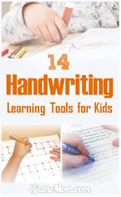 best learning tools for kids handwriting practice