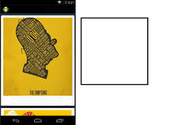 square android bitmap how to set an imageview to square view in android