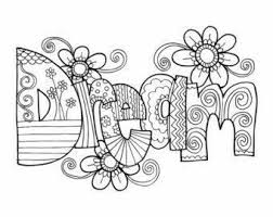 1233 best coloring pages words images on pinterest coloring