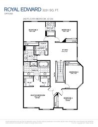 Jack And Jill Bedroom Floor Plans by Royal Edward Tartan Homes