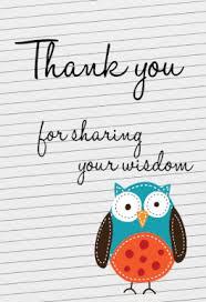 appreciation cards for your widsom free printable appreciation card