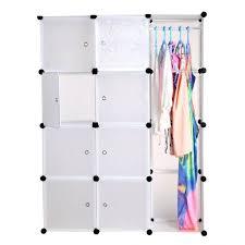 placard rangement chambre armoire placard rangement garde robe pliant combinaison portable