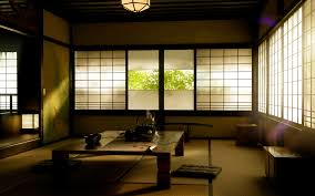 wallpapers4u japanese room asian oriental window tea desktop