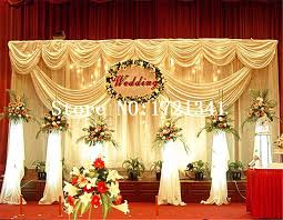 wedding backdrop design philippines decoration wedding backdrop silk wedding stage decoration