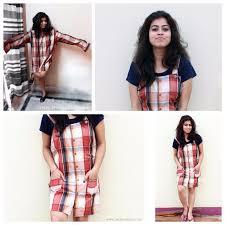 how to convert a shirt u0026 tshirt into a dress on stylepedia