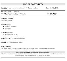Resume Services London Ontario Free Sample College Employment Ontario Resume Help