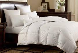 white goose down alternative comforter from home goods galore