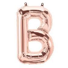 rose gold letter balloons u2013 zurchers