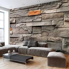 wand gestalten mit steinen innenarchitektur kühles wande gestalten wohnzimmer mit stein