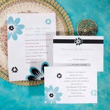 customizable wedding invitations customizable blue wedding invite ewi077 as low as 0 94