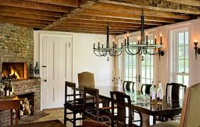 Farmhouse Dining Room Lighting Design Trend Dual Dining Room Chandeliers The Brown Daniel Team