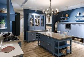 blue kitchen cabinets with granite countertops blue kitchen and blue kitchen cabinets