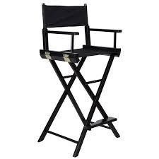 professional makeup artist chair equipment makeup chair foldable wood professional black