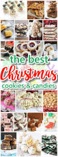 the best christmas cookies fudge candy barks and brittles