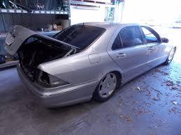 2002 mercedes a class 2000 2002 mercedes s class w220 s500 left side parktronic
