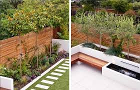 family garden long thin garden design family garden design