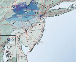 Philadelphia On Map Some Light Snow Possible In Philly Followed By A Messy Monday Commute