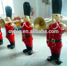 sale fiberglass ornaments outdoor soldier figures