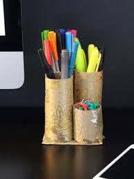 toilet paper roll desk organizer 10 great crafts that use toilet paper rolls cascades