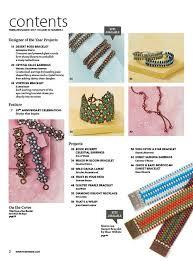2017 feb mar beadwork magazine used sova enterprises