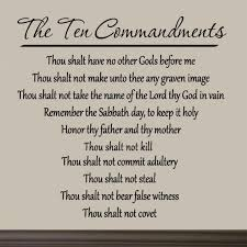 Lord Of The Rings Home Decor by Amazon Com 10 Commandments Wall Decal Bible Vinyl Scripture Quote