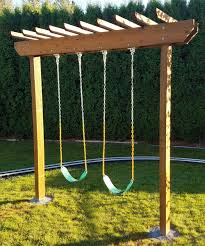 pergola swing set u2013 jesse shelly