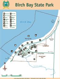 Washington State Parks Map by Birch Bay State Park Maplets