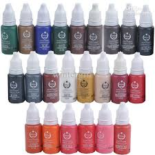 permanent makeup ink bio touch micro pigment cosmetic 15mlkits