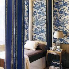 Blue Toile Curtains Toile Curtains Design Ideas