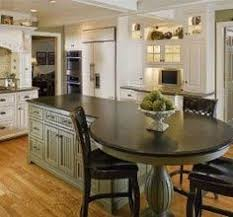Best Kitchen Islands Images On Pinterest Dream Kitchens Home - Kitchen island with attached table