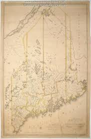 map of maine moses greenleaf s map of the district of maine 1815 maine