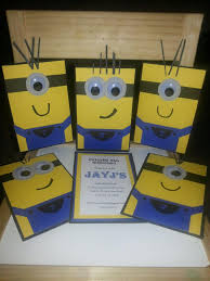 diy minion invitations diy minion birthday invitations for my nephews birthday the one
