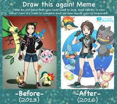 meme draw this again by general mudkip on deviantart